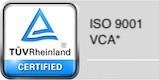 ISO 9001 en VCA
